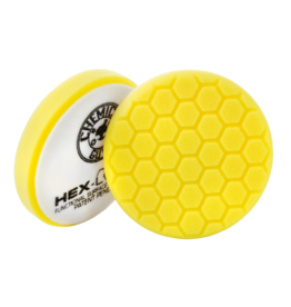 Hex-Logic 6.5 '' Hex-Logic Pad Yellow Cutting/Compounding Pad- Chemical Guys Premium Pads -(6.5''Inch)