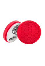Hex-Logic 6.5'' Hex-Logic Pad -Red Perfection Ultrafine Wax & Sealant Finishing Pad (6.5''Inch)