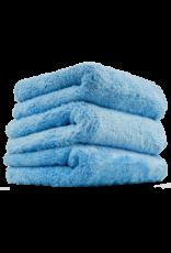 Chemical Guys Happy Ending Edgeless Microfiber Towel, Blue, 16''X16'' (3 Pack)