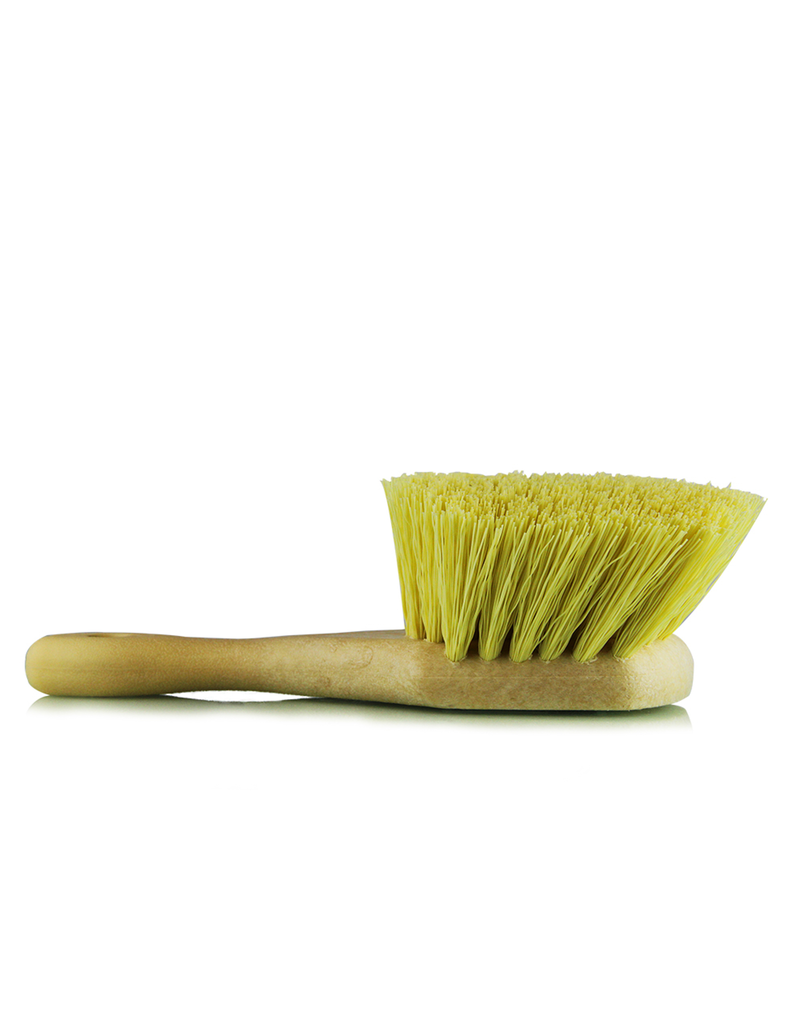 Chemical Guys Utility Brush Strong Yellow Bristles-Wheel-Fender Tire & Rim