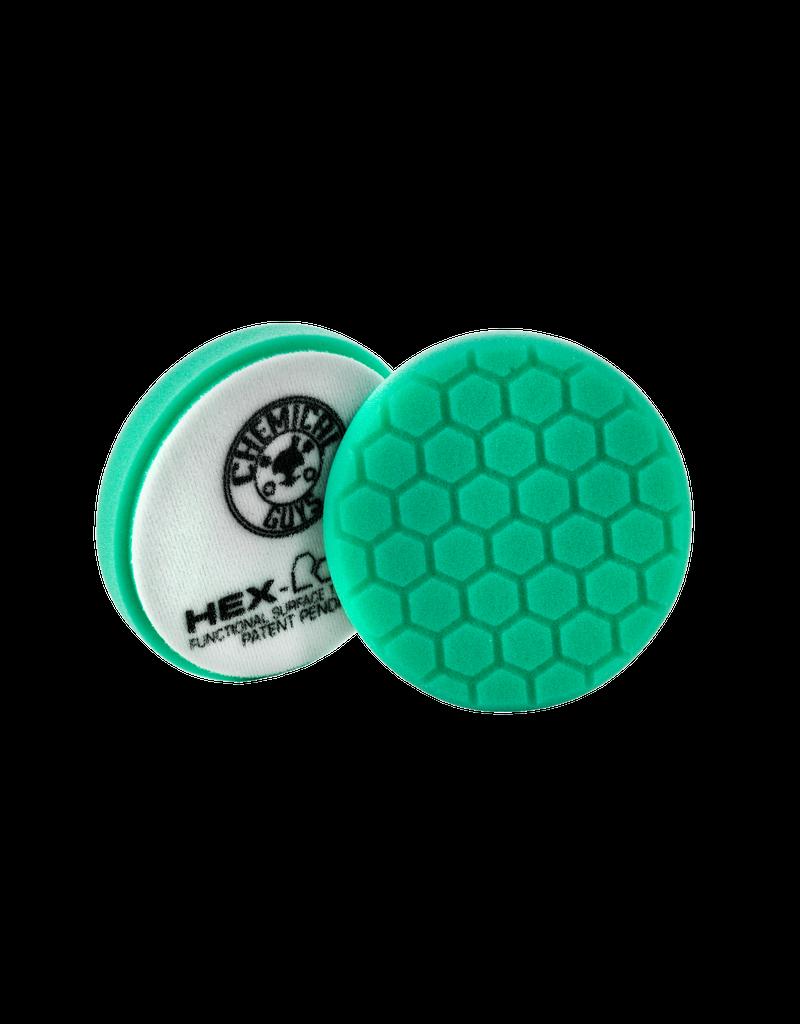 Hex-Logic 5.5 '' Hex-Logic Pad Green Light Cut-Heavy Polish Minor Scratch & Swirl Remover Pad- 5.5''Inch)