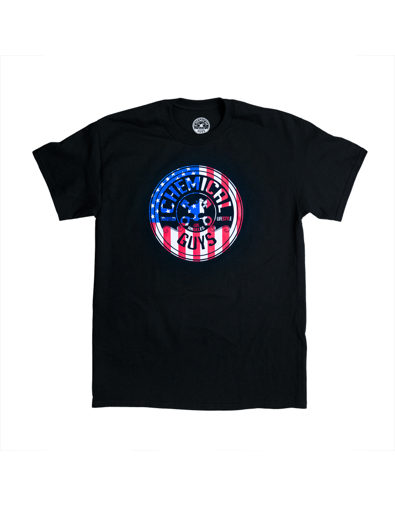 Chemical Guys Chemical Guys - American Stars and Stripes Tee (Large)