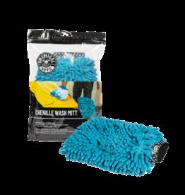 Chemical Guys Chenille Premium Scratch-Free Microfiber Wash Mitt, Blue