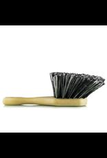 Chemical Guys ACC_G09 Body & Wheel Flagged Tip Short Handle Car Care Brush (Grey)