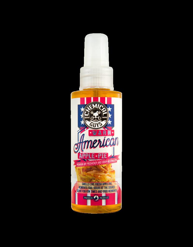 Chemical Guys AIR22704 Warm American Apple Pie Air Freshener & Odor Eliminator (4oz)
