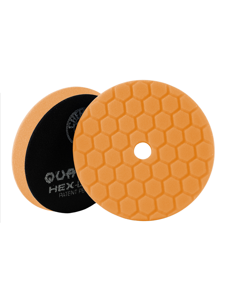 Hex-Logic Hex-Logic Quantum Buffing Pad -Orange -5.5""