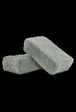 Chemical Guys Gray - Microfiber Applicator Premium Grade (2 Pack)