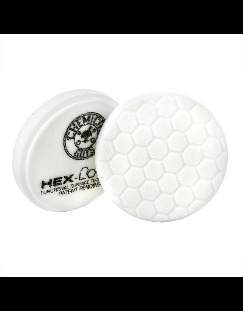 "Hex-Logic 4"" Hex-Logic Pad - White Medium Light Polishing Pad (4""Inch)"