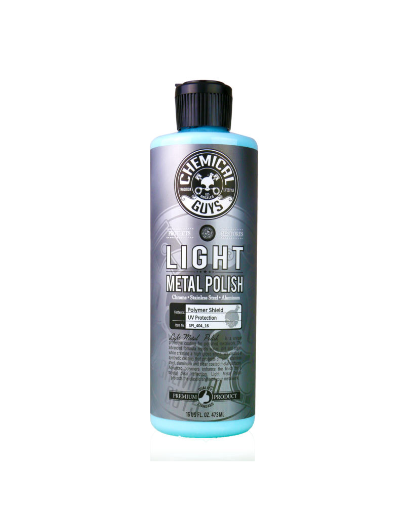 Chemical Guys SPI_404_16 Light Metal Polish (16 oz)