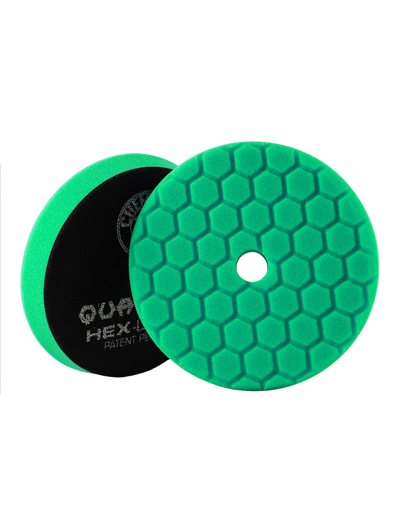"Hex-Logic BUFX113HEX6 6"" Heavy Green Polishing Pad"