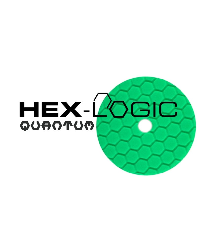 "Hex-Logic BUFX113HEX5 5"" Heavy Green Polishing Pad"