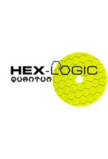 "Hex-Logic BUFX111HEX5 5"" Heavy Yellow Cutting Pad"