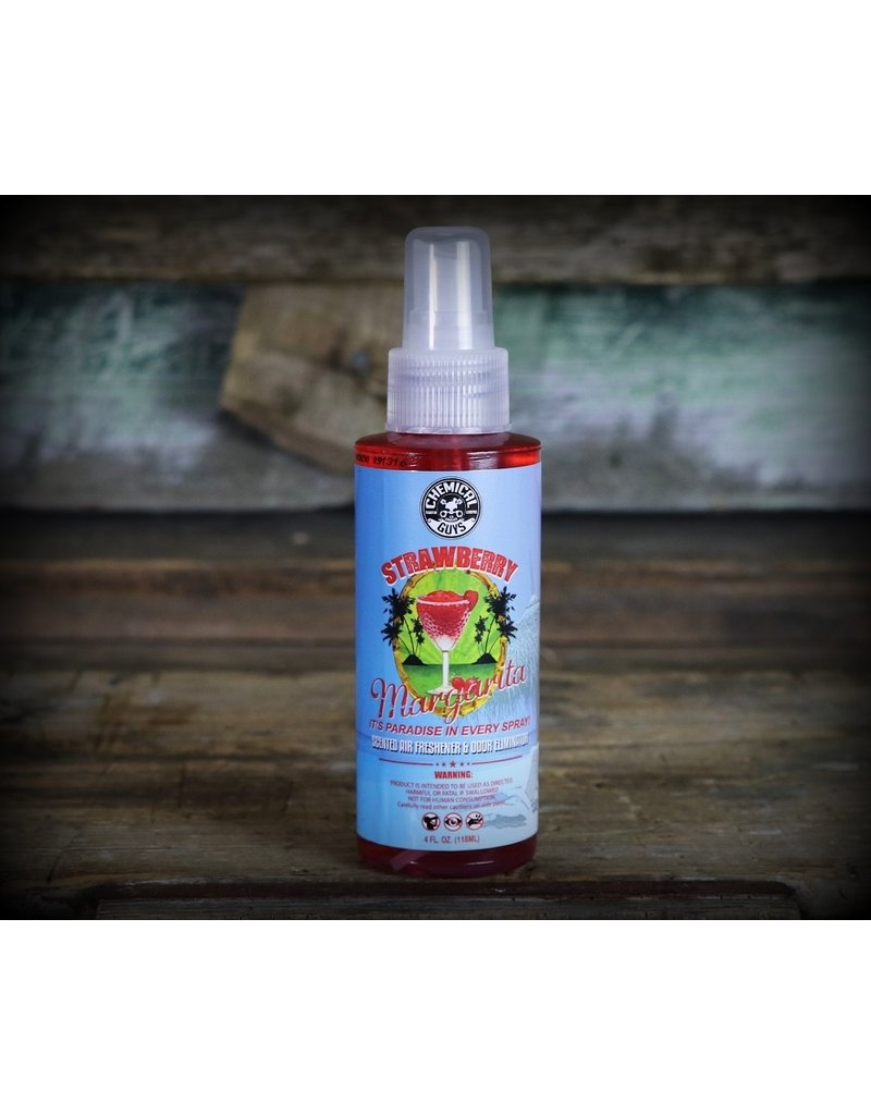 Chemical Guys AIR_223_04 Strawberry Margarita Scented Air Freshener (4oz)
