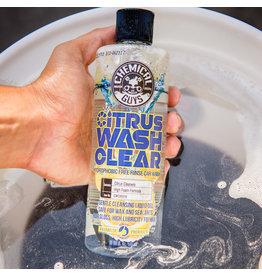 Chemical Guys Citrus Wash Clear Hydrophobic Soap (16oz)