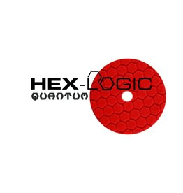 "Hex-Logic 5"" Ultra Fine Red Finishing Pad"