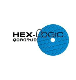 "Hex-Logic 6"" Blue Finishing Pad for Glaze, Wax, & Sealant"