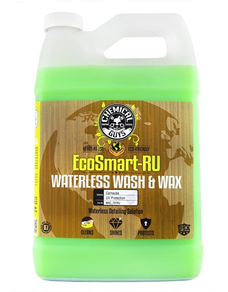 Chemical Guys WAC_707RU Ecosmart RU Waterless Wash & Wax (128oz)
