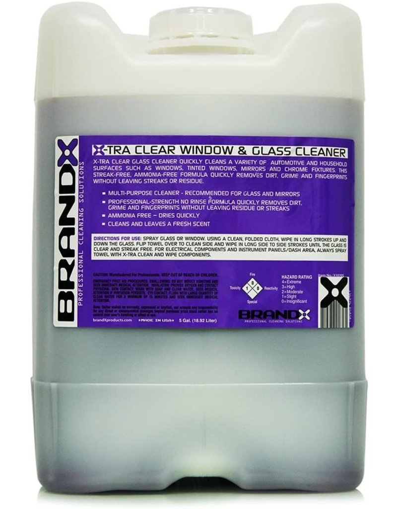 Brand-X X10705 Brand X Glass Cleaner (640oz)