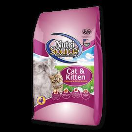 Nutri Source NutriSource Cat Chicken & Rice Cat & Kitten 6.6#