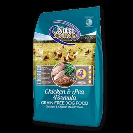 Nutri Source NutriSource Dog GF Chicken & Pea 30#