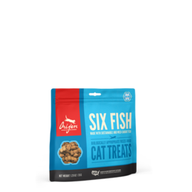 Orijen Orijen Cat FD Six Fish Treat 1.25oz New
