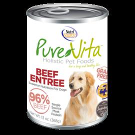 Pure Vita Pure Vita Dog Beef & Beef Liver 13oz