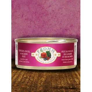 Fromm Fromm Cat Chicken, Duck and Salmon 5.5oz