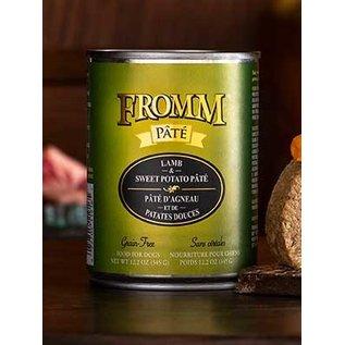 Fromm Fromm Dog Lamb & Sweet Potato Pate 12oz