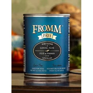 Fromm Fromm Dog Whitefish & Lentil Pate 12oz