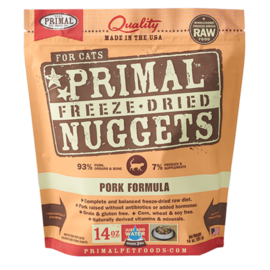 Primal Primal Cat FD Pork Nuggets 5.5oz