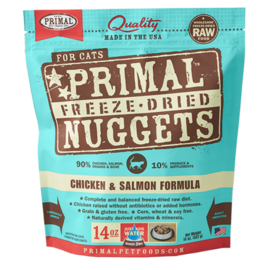 Primal Primal Cat FD Chicken & Salmon Nuggets 5.5oz