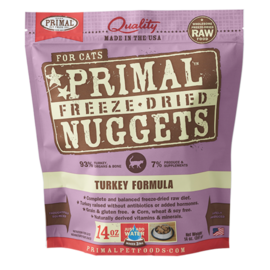 Primal Primal Cat FD Turkey 14oz