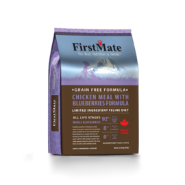 FirstMate FirstMate Cat Chicken & Blueberry 3.96#