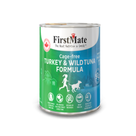 FirstMate Firstmate Dog Turkey & Tuna 12.5oz
