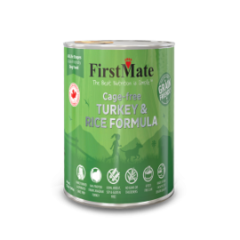 FirstMate Firstmate Dog Turkey & Rice 12oz