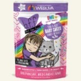 BFF BFF Cat OMG Baby Cakes Tuna & Beef Pouch 3oz