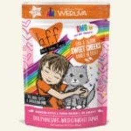 BFF BFF Cat OMG Sweet Cheeks Tuna & Salmon Pouch 3oz
