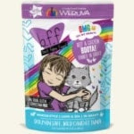 BFF BFF Cat OMG Booya Beef & Chicken  Pouch 2.8oz