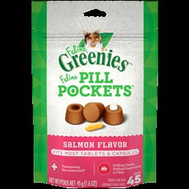 Greenies Greenies Cat Pill Pockets Salmon 1.6oz