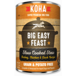 Koha Koha Big Easy Feast Stew Dog 12.7oz