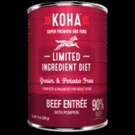 Koha Koha Beef Entree Dog 13oz