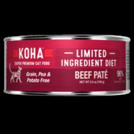 Koha Koha Cat LID Pate GF 96% Beef 3oz