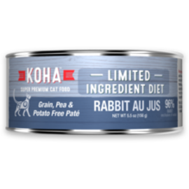 Koha Koha Cat LID Rabbit Pate 5.5oz