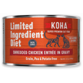 Koha Koha Cat LID Shredded Chicken 5.5oz