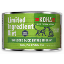 Koha Koha Cat LID Shredded Duck 5.5oz