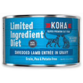 Koha Koha Cat LID Shredded Lamb 5.5oz