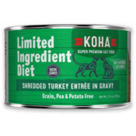 Koha Koha Cat LID Shredded Turkey 5.5oz