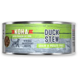 Koha Koha Cat Duck Stew 5.5oz