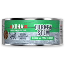 Koha Koha Cat Turkey Stew 5.5oz