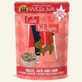 Cats in the Kitchen CITK Mack Jack and Sam Pouch 3oz